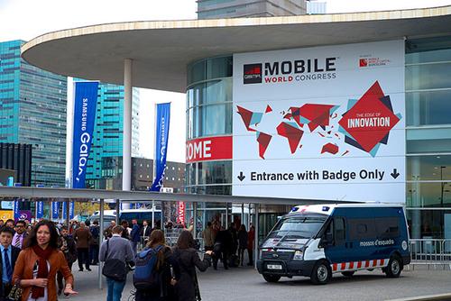 Accesos al Mobile World Congress 2015
