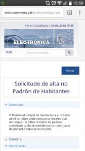 concello pontevedra sede electrónica móvil