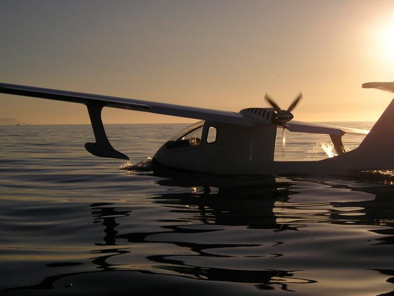 Hidroavión opcionalmente tripulado desarrollado por COYAER